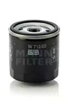 W71283 MANN-FILTER Масляный фильтр