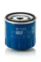 W7129 MANN-FILTER Масляный фильтр -1