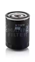 W71318 MANN-FILTER Масляный фильтр