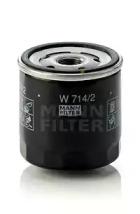 W7142 MANN-FILTER Масляный фильтр