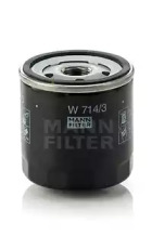 W7143 MANN-FILTER Масляный фильтр