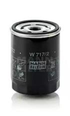 W7172 MANN-FILTER Масляный фильтр