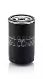 W7191 MANN-FILTER Масляный фильтр, Фильтр, система вентиляции картера
