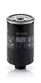 W71921 MANN-FILTER Масляный фильтр