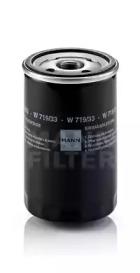 W71933 MANN-FILTER Масляный фильтр -1