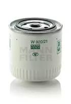 W92021 MANN-FILTER Масляный фильтр, Фильтр, Гидравлическая система привода рабочего оборудования