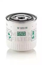W92038 MANN-FILTER Масляный фильтр