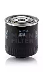 W9208 MANN-FILTER Масляный фильтр