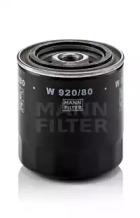 W92080 MANN-FILTER Масляный фильтр