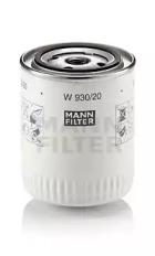 W93020 MANN-FILTER Масляный фильтр