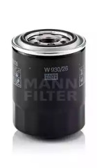 W93026 MANN-FILTER Масляный фильтр -1