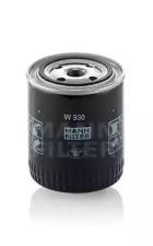 W930 MANN-FILTER Масляный фильтр, Фильтр, Гидравлическая система привода рабочего оборудования