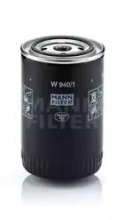 W9401 MANN-FILTER Масляный фильтр; Гидрофильтр, автоматическая коробка передач; Фильтр, Гидравлическая система привода рабочего оборудования