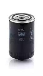 W940 MANN-FILTER Масляный фильтр, Гидрофильтр, автоматическая коробка передач, Фильтр, Гидравлическая система привода рабочего оборудования