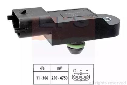 Датчик тиску наддува (CR) 1,5-2,5DCI: Clio III, Megane II 02-, Laguna II 01- Scenic II 03- EPS 1993121 для авто  с доставкой