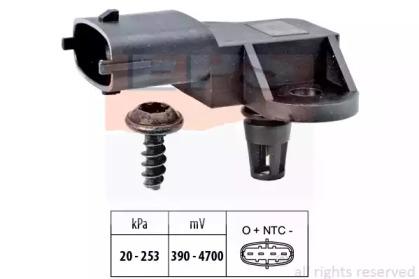 →1.993.092 Датчик тиску повітря в впускному коллекторі Fiat 1.4 07- EPS 1993176 для авто  с доставкой