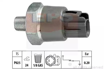 Датчик тиску масла Toyota Avensis/Corola/Carina/Camry 1.4-2.7 92- EPS 1800114 для авто  с доставкой
