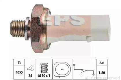 Датчик тиску масла VW Polo, Vento, Sharan, T4 Seat Ibiza, Cordoba, Alhambra 1.6-2.0 93- EPS 1800136 для авто  с доставкой
