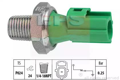 Датчик тиску масла Ford Mondeo,Tourneo,Transit 1.8-2.0 00- EPS 1800146 для авто  с доставкой