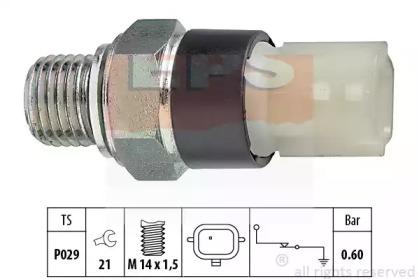 Датчик тиску масла Nissan Primastar/Opel Movano 2.5CDTi 03- EPS 1800178 для авто  с доставкой