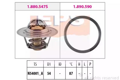 Термостат, Охлаждающая Жидкость EPS 1880547 для авто  с доставкой