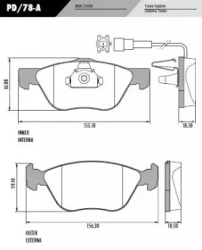 PD/78-A FRAS-LE