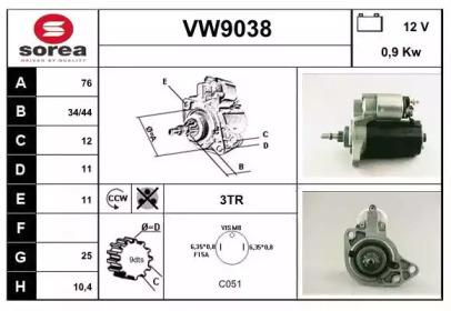 VW9038 SNRA