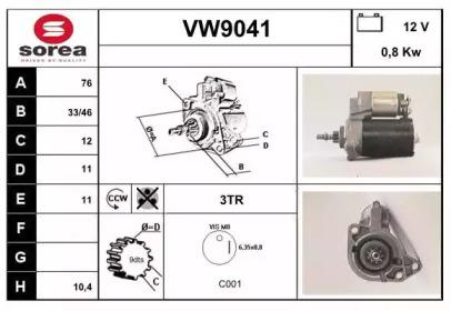 VW9041 SNRA