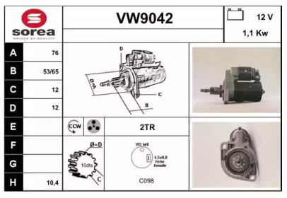 VW9042 SNRA