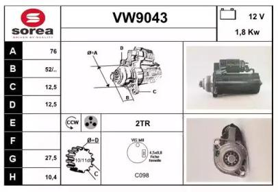 VW9043 SNRA