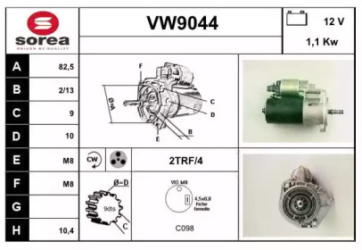 VW9044 SNRA