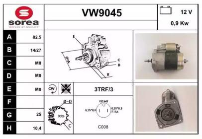 VW9045 SNRA