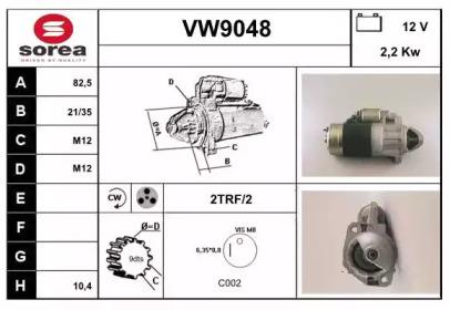 VW9048 SNRA