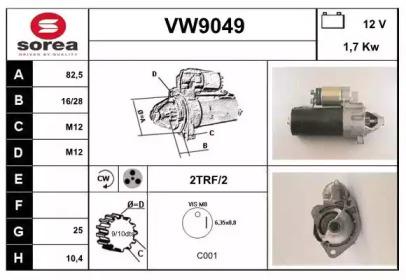 VW9049 SNRA