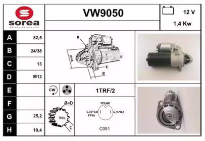 VW9050 SNRA