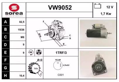 VW9052 SNRA