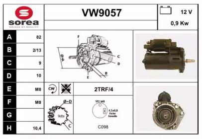 VW9057 SNRA
