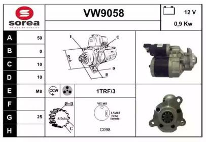 VW9058 SNRA