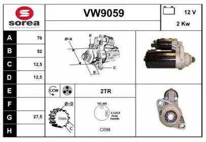 VW9059 SNRA