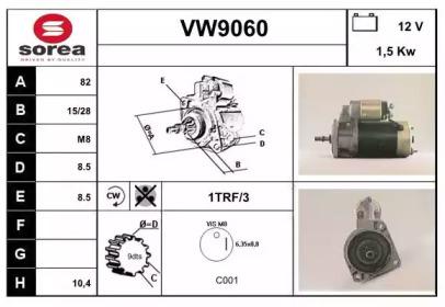 VW9060 SNRA