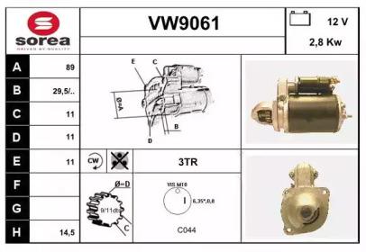 VW9061 SNRA