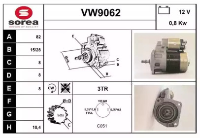 VW9062 SNRA