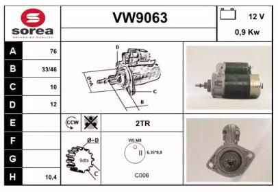 VW9063 SNRA