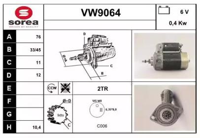 VW9064 SNRA