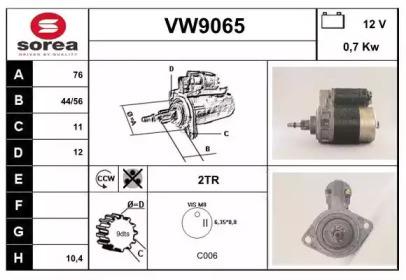 VW9065 SNRA