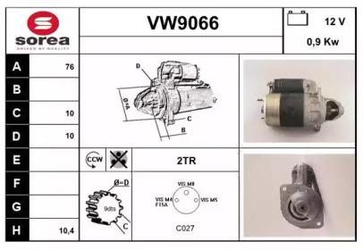 VW9066 SNRA