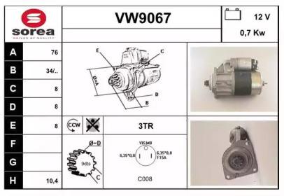 VW9067 SNRA