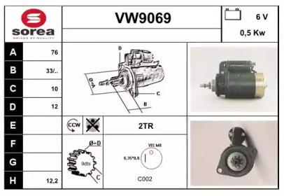 VW9069 SNRA