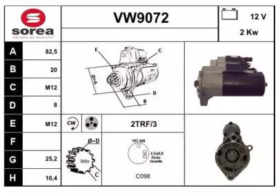 VW9072 SNRA