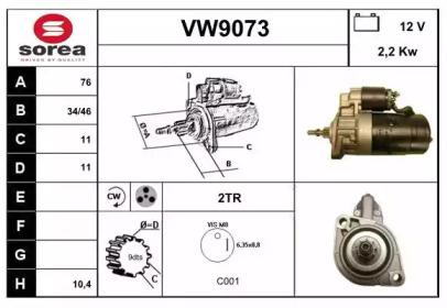 VW9073 SNRA